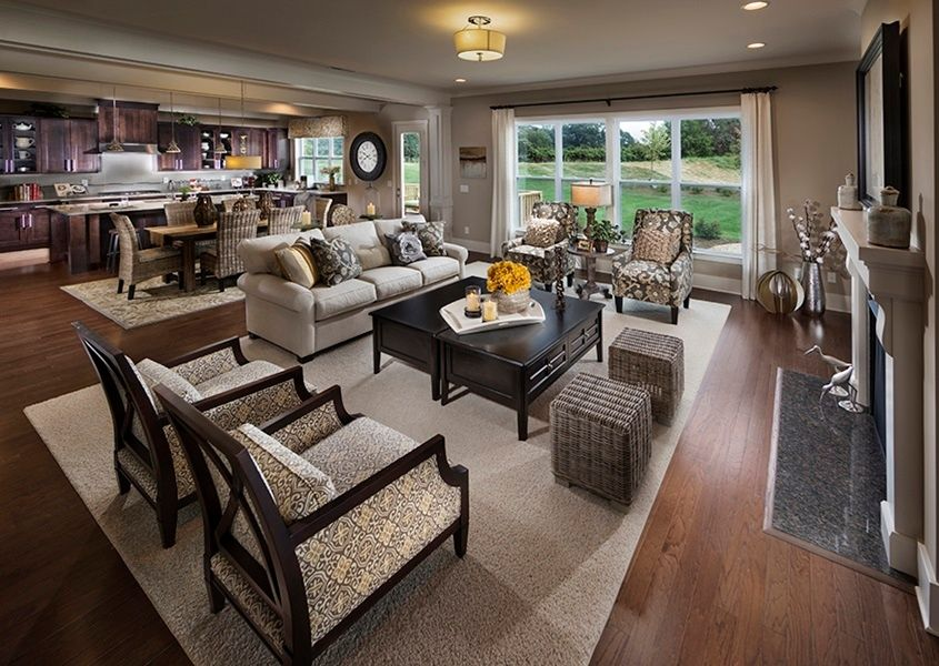 Great Traditional Living Room Open Concept Living Room Livingroom Layout Open Living Room