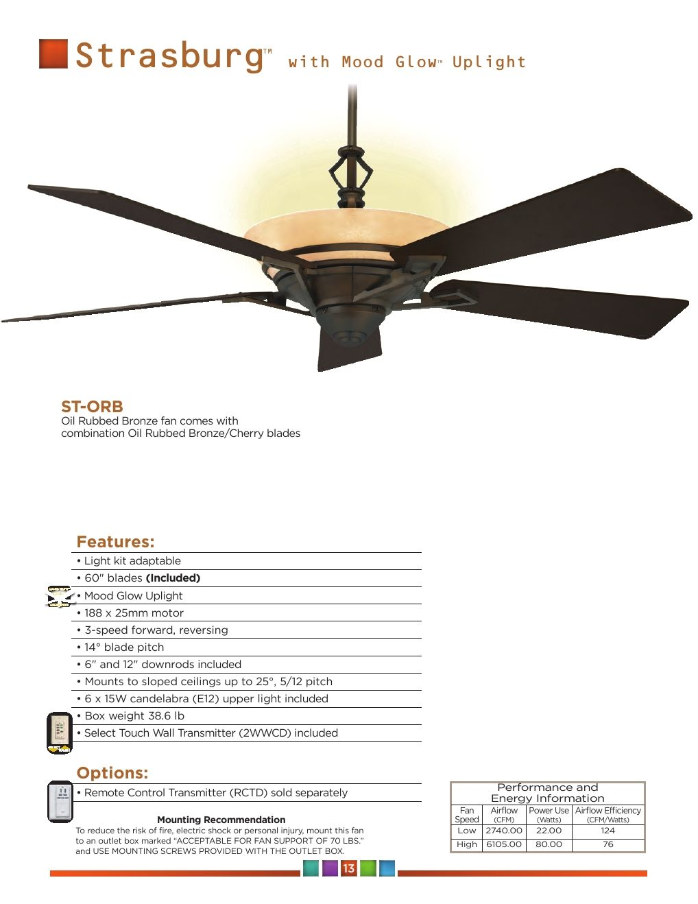 Regency Fan 2015 Catalog In 2020 Ceiling Fan Design Fan Regency