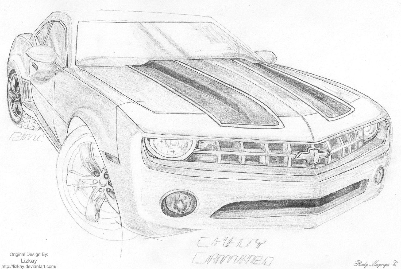 Vistoso Chevy Camaro Para Colorear Ilustración - Ideas Para Colorear ...