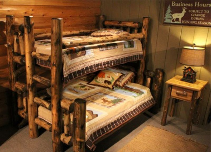 Cabin Bunk Beds Log Cabin Bunk Bunk Beds Log Bunk Beds Cool