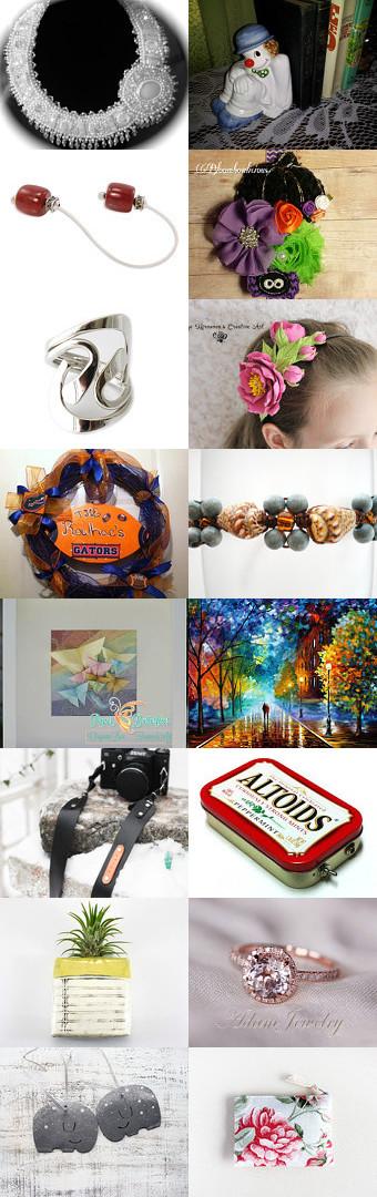 Super Seven by Erinn LaMattery on Etsy--Pinned with TreasuryPin.com  #EtsyTreasury #LuckySeven #GiftsDecor