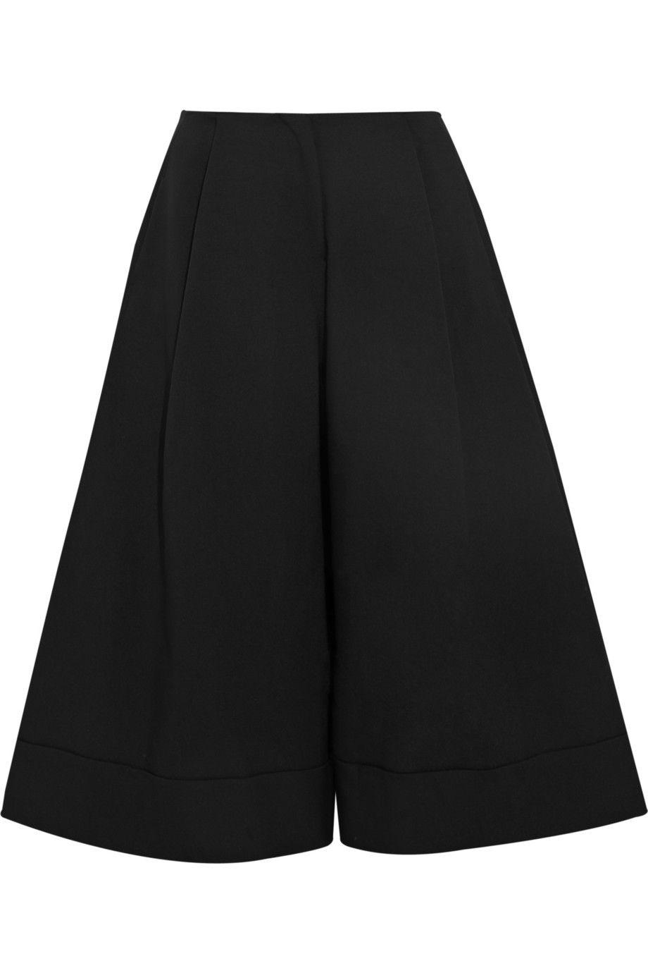 J.W.Anderson  Crepe wide-leg culottes NET-A-PORTER.COM