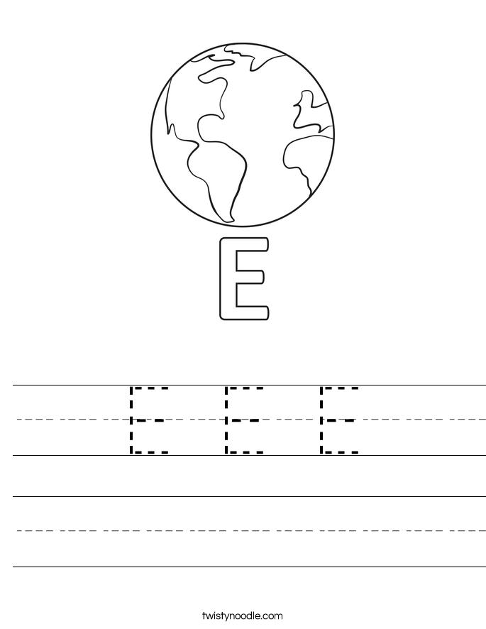 Earth Pre K Sheets Google Search Writing Worksheets Preschool Names Preschool Letters