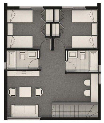 Diseno de casa minimalista de dos plantas futura casa for Casa minimalista planos