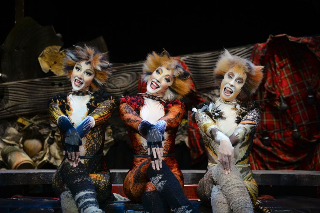 Demeter, Bombalurina, and Jellylorum Musicals, Cat movie
