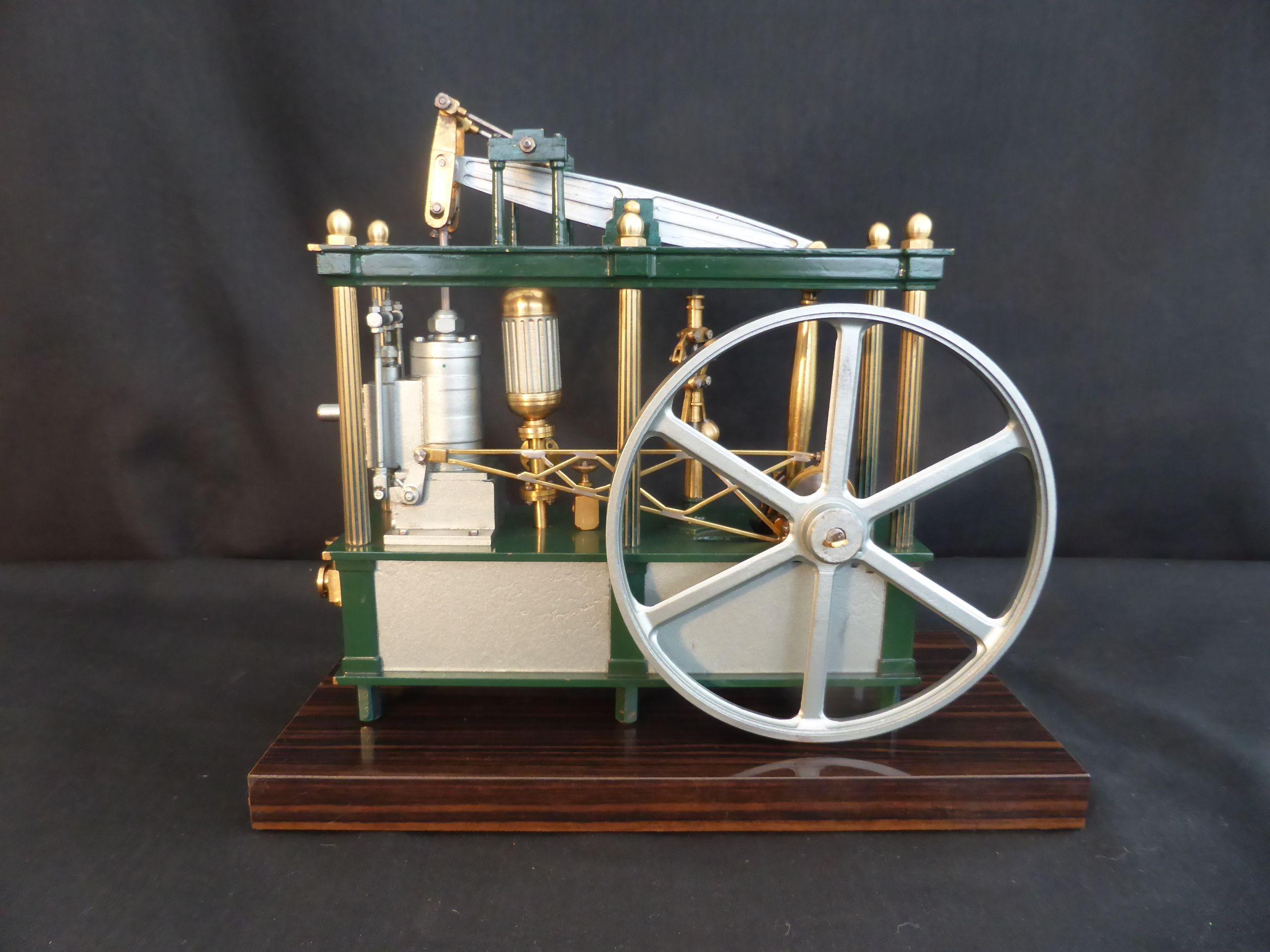 Model Engine - Lady Stephanie Estate Pump Model Engine by Brian Stephenson  http://www.modelenginesbrian.com/