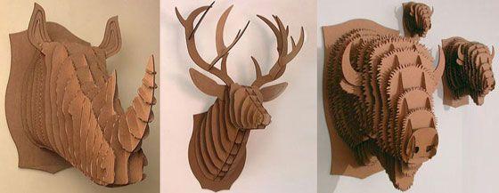 Cardboard Sculpture Art Worksheets