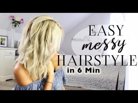 youtube locken mit gl tteisen pinterest leichte wellen haar tutorial und wellen haare. Black Bedroom Furniture Sets. Home Design Ideas