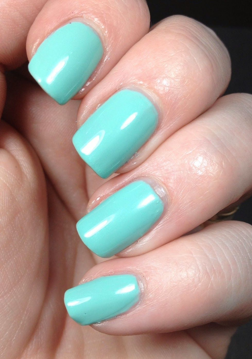 I Earned a little Blue Box, Tiffany Blue nail polish by ...