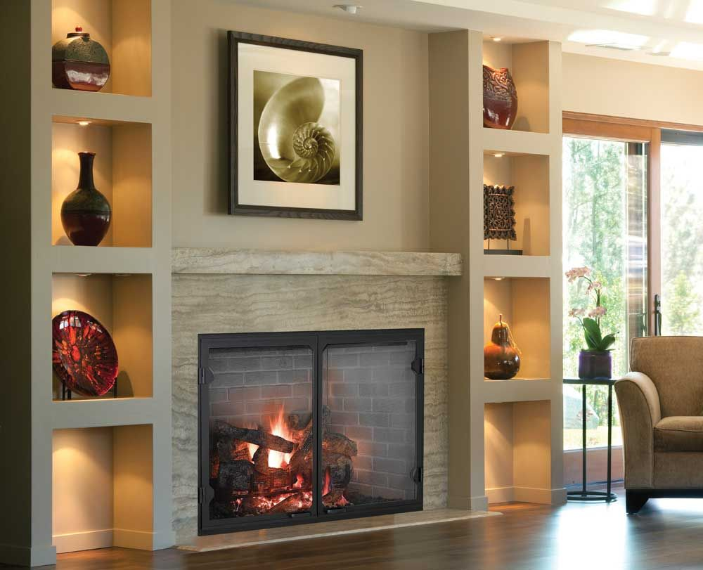 Biltmore Wood Burning Fireplace By Majestic Shop Wood Fireplaces