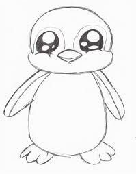Image Result For Cute Penguin Drawings Painting Pinterest