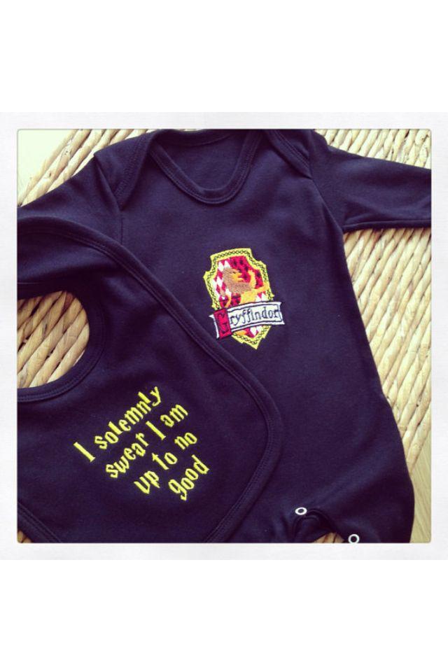 4c38cb29b Harry Potter Onesie & Bib set ⚡ | Babies & Kids | Baby grows, Harry ...