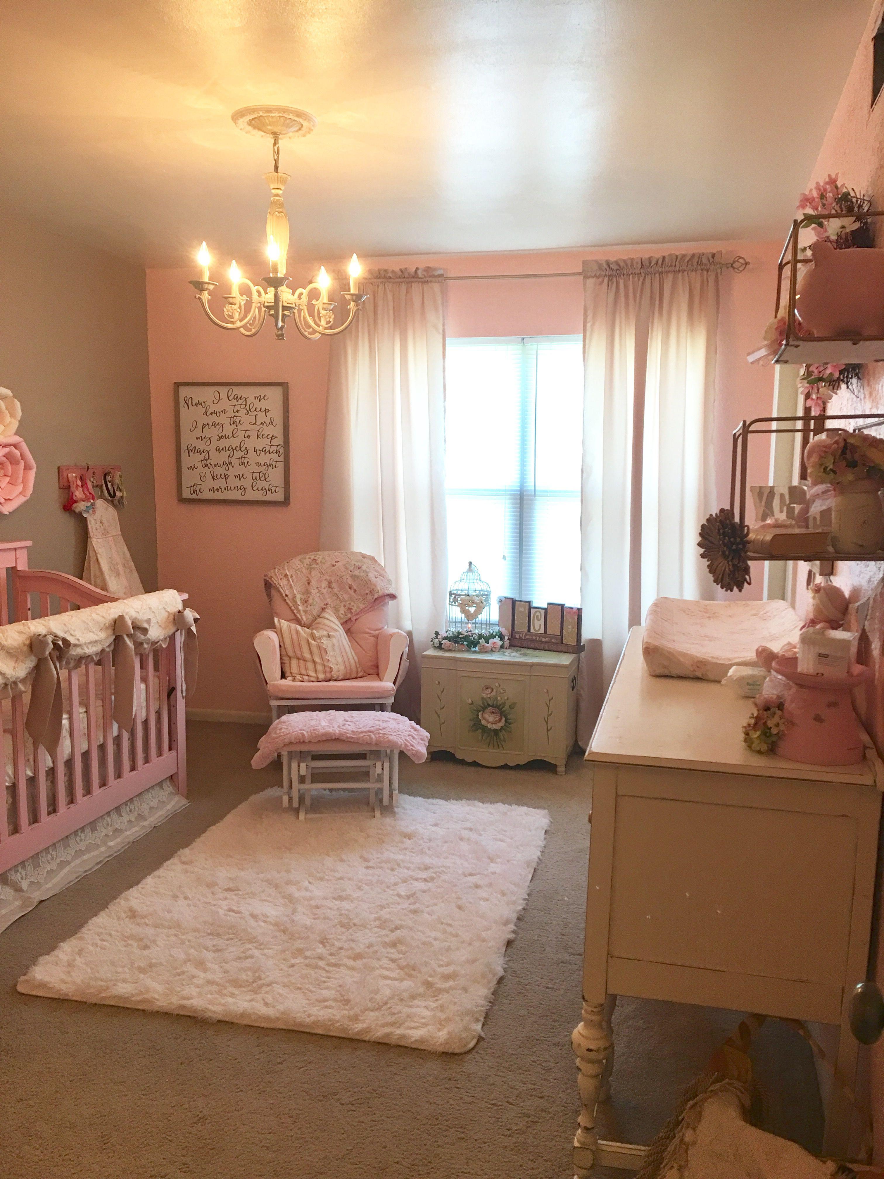 Shabby Chic Nursery babygirlnursery nursery