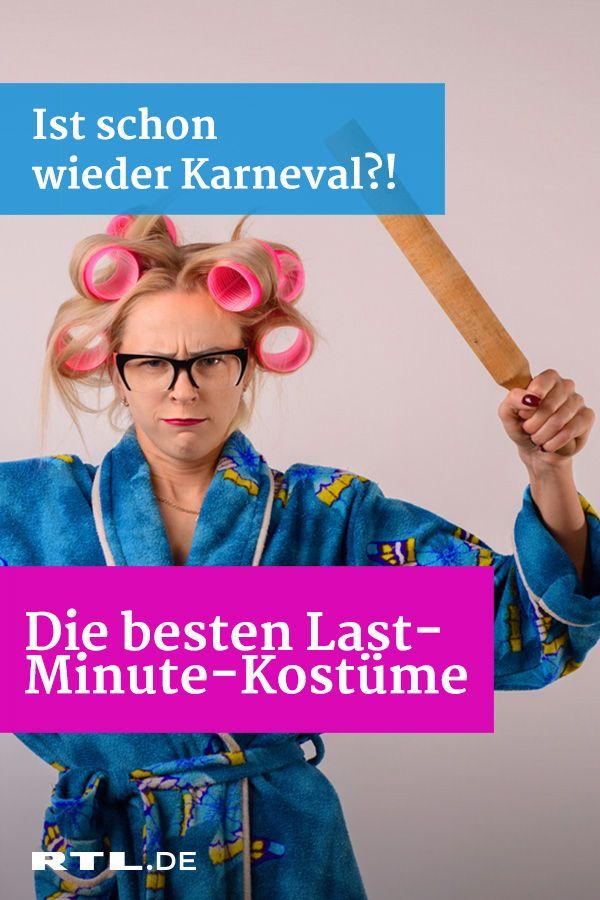 Karneval Last Minute Kostüm