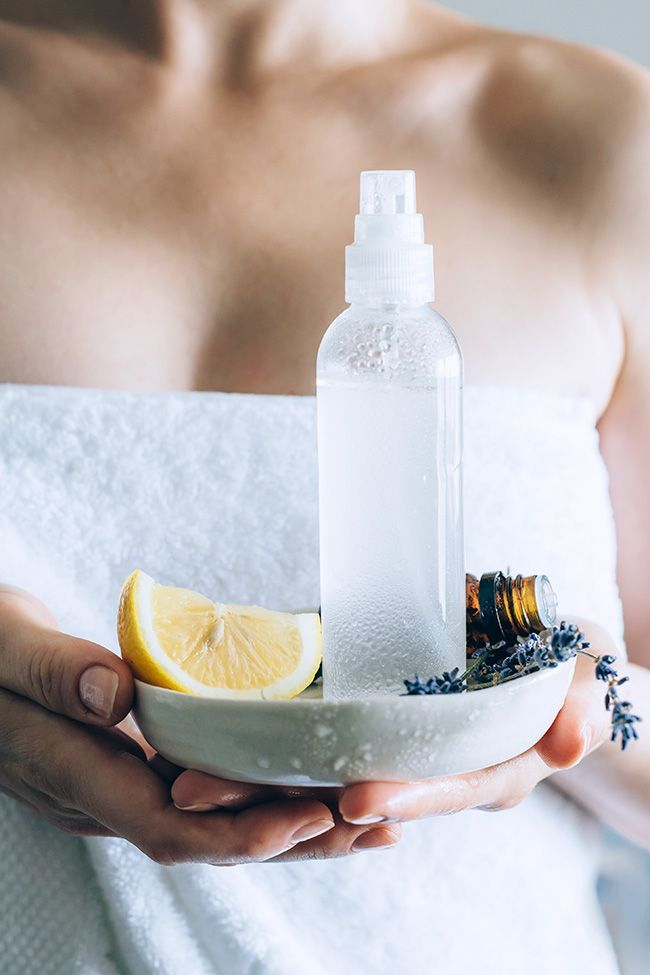 DIY Lavender Lemonade Body Spray   HelloGlow.co