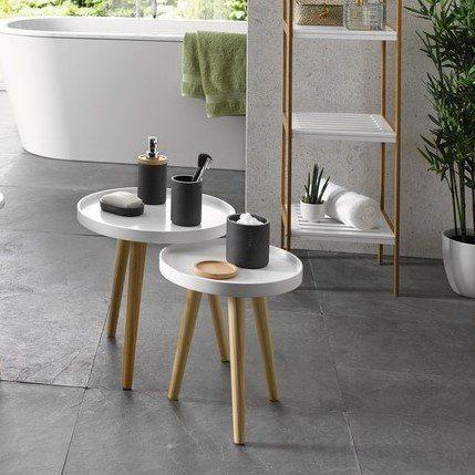 Charmant Beistelltisch Set, Skandinavisches Retro Design