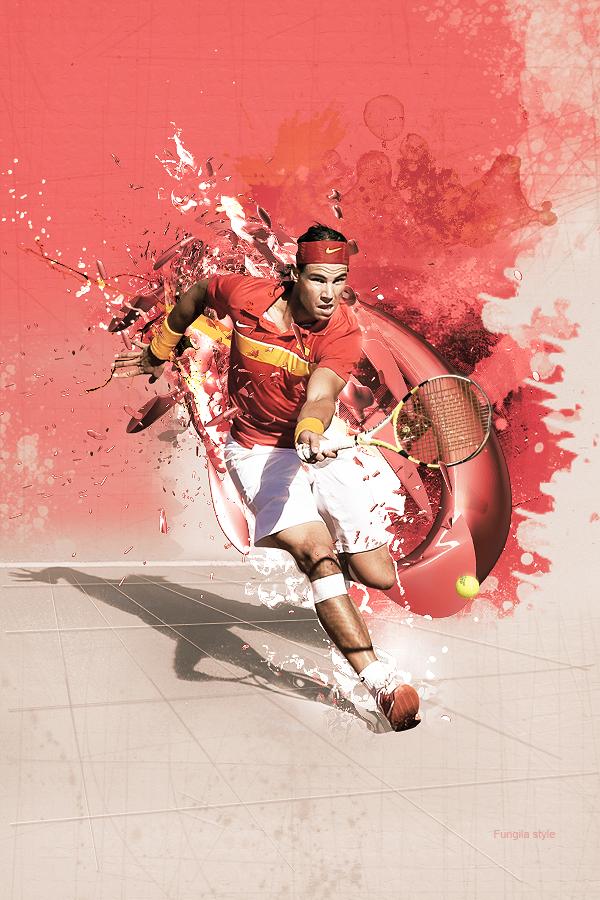 sport poster design tennis posters