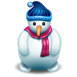 This High Quality Snowman Sticker Will Look Stunning When You Use It In Your Facebook Comment Or Chat Messenger Use This Faceb Snowman Cartoon Styles Stickers
