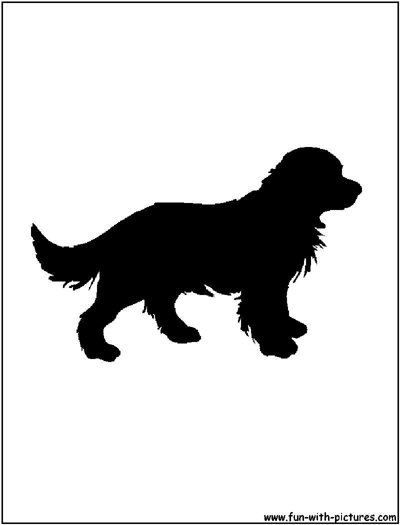 Golden Retriever Silhouette Golden Retriever Silhouette Dog