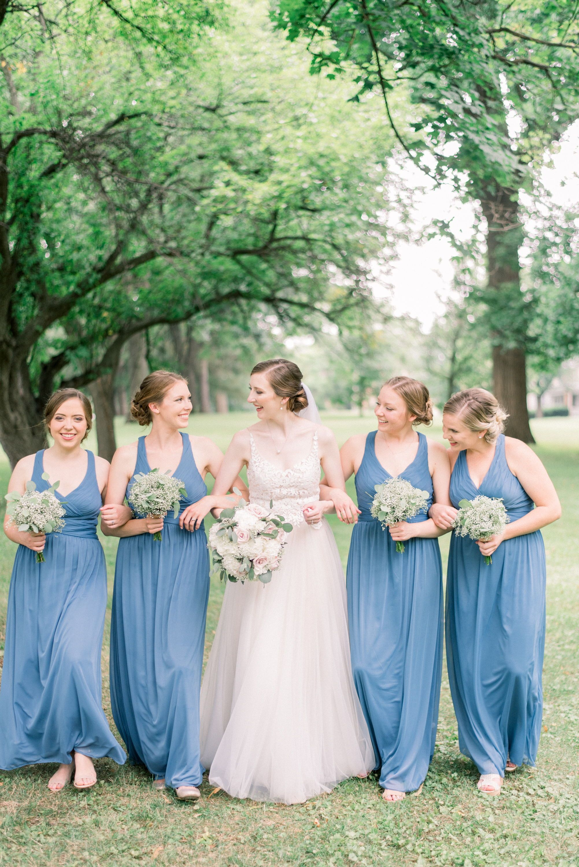 Gradert wedding bride bridesmaids pinterest wedding