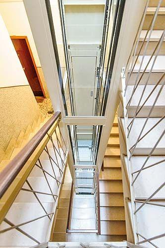 LATUS ascensori per modernizzazioni edifici esistenti