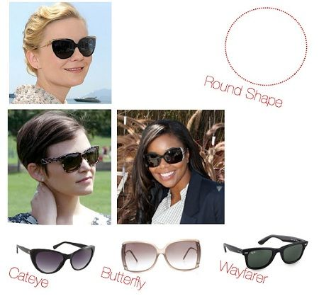Do you have a round-shaped face like Ginnifer Goodwin and Kirsten Dunst   These glasses are best for you! 483c92f7026