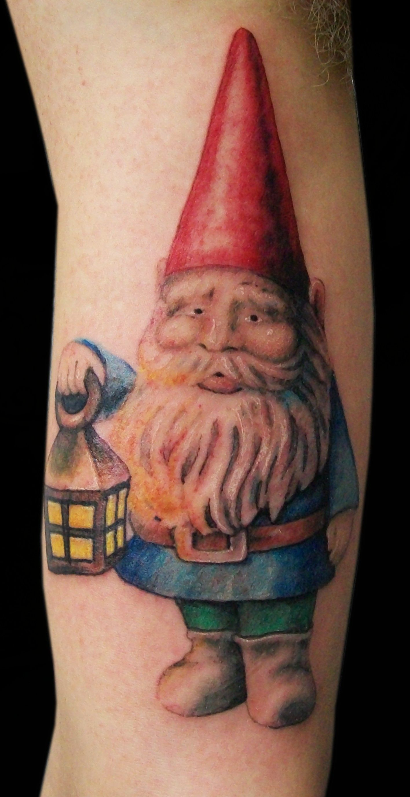 garden gnome tattoo inspiring things and tattoos
