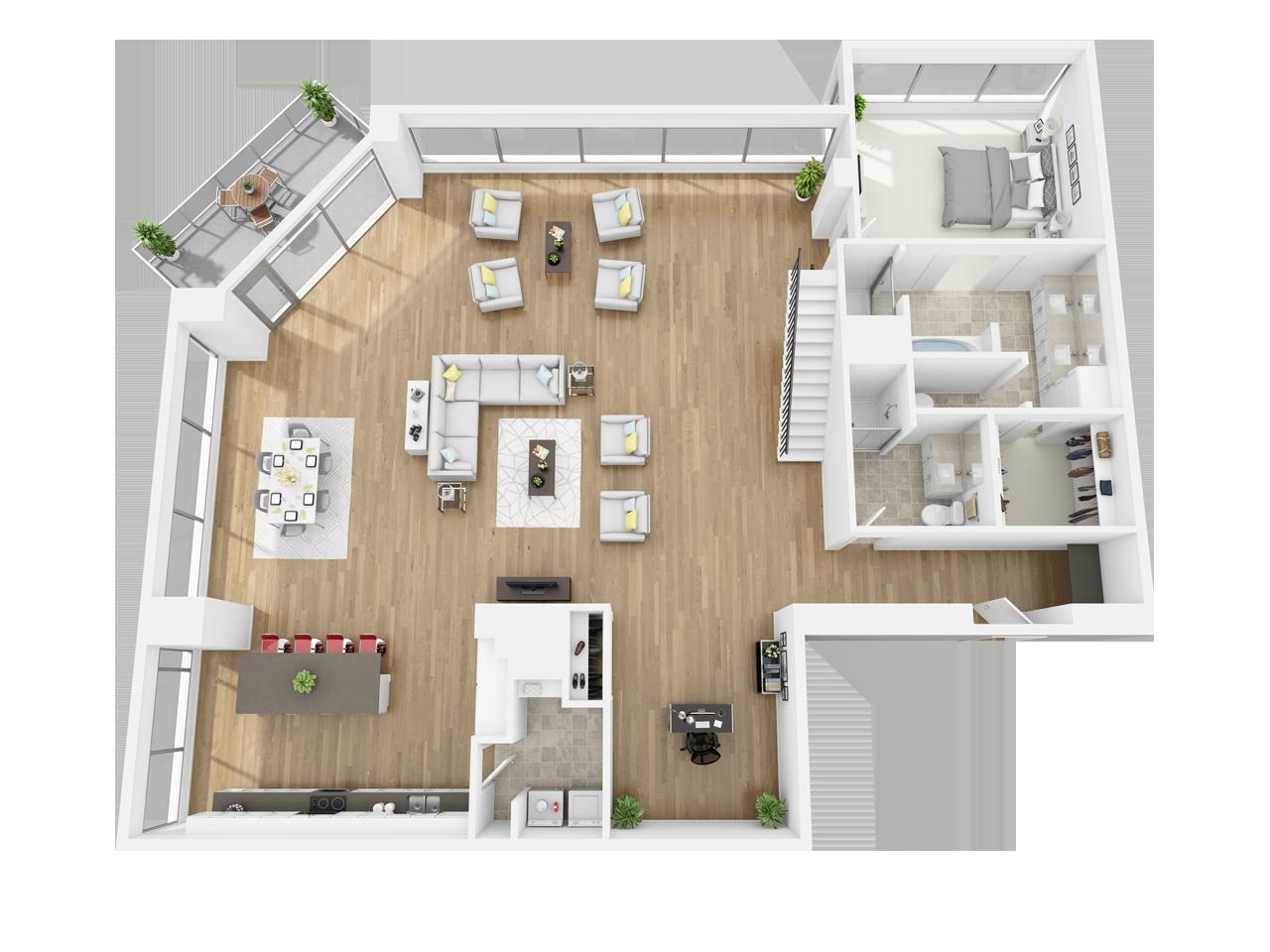 1 2 3 Bedroom Downtown Los Angeles Ca Apartments Apartment Floor Plans Apartment Floor Plan Downtown Apartment