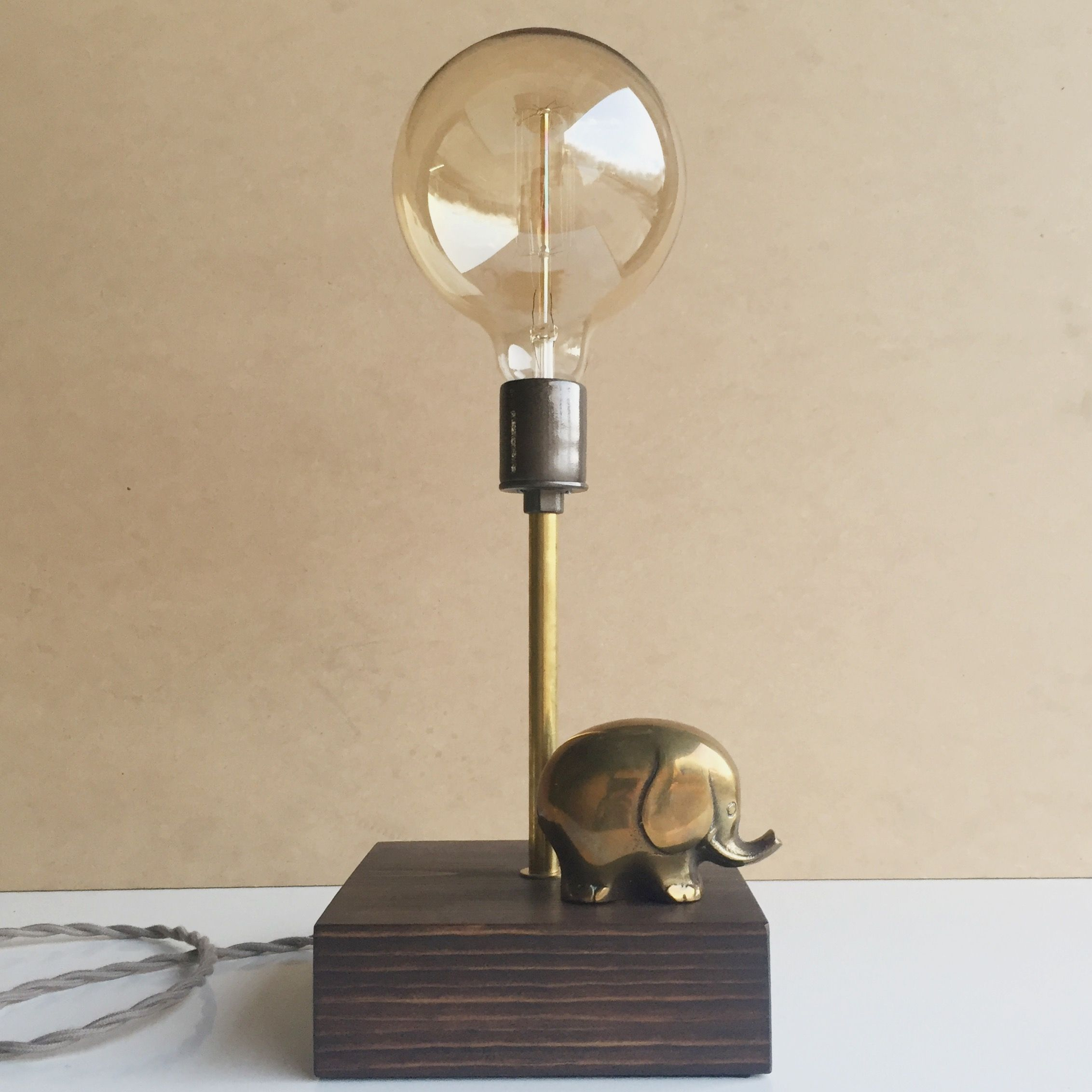 Mr Elephant Touch Sensor Lamp Lincoln Hobbs Lamp Led Bulb Filament Bulb