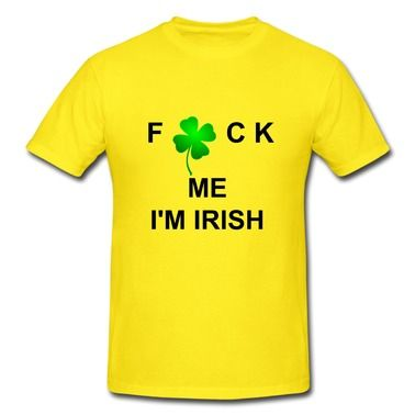 Irish Lucky Clover Short Sleeve T-shirts on Sale-Holidays & Occasions T-shirts shop from HICustom.net .24 hour service available.