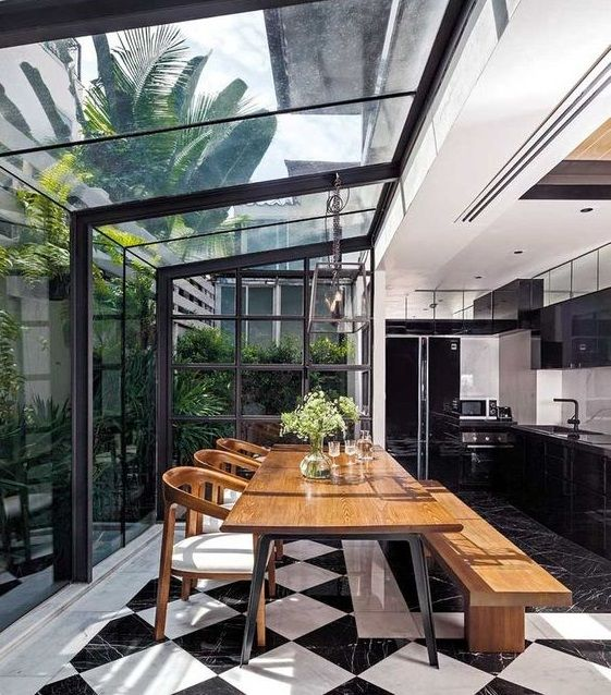 40 Amazing Outdoor Dining Area Ideas and Designs