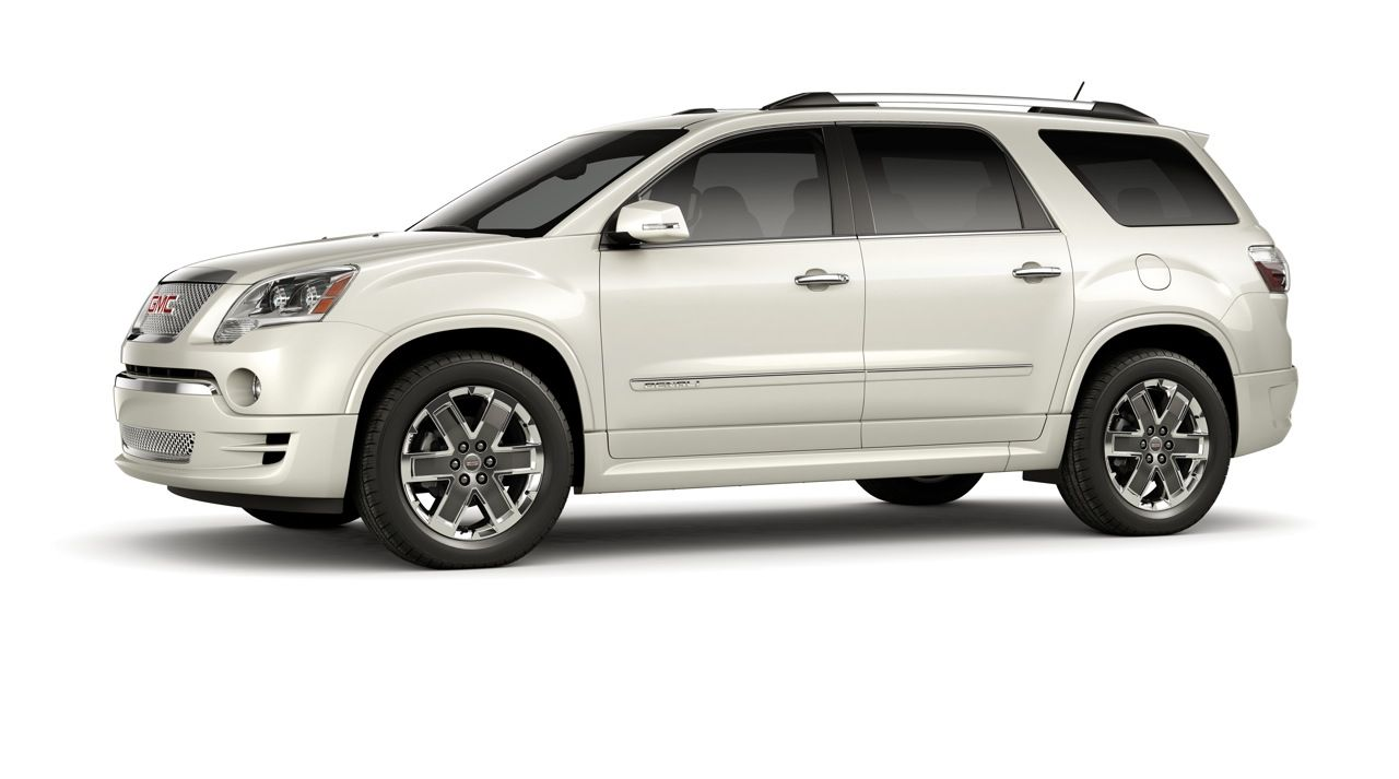Gmc Acadia Awd Denali My New Ride Except Mine Is Red Lovin It Acadia Denali Gmc Gmc Vehicles