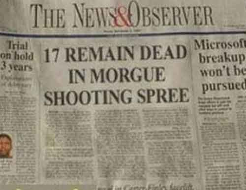 25 Of The Funniest Unintentional Newspaper Headlines Ever These