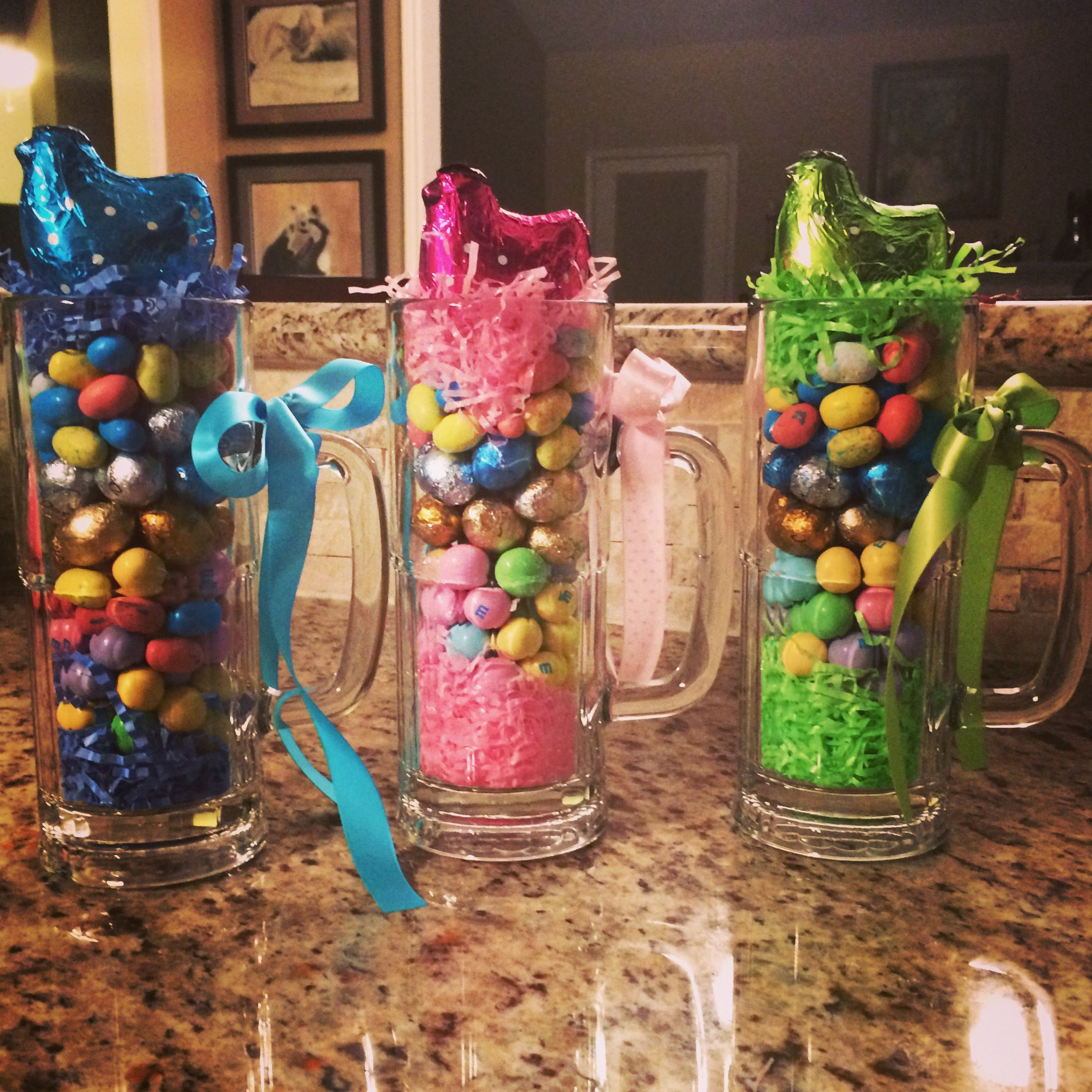 """Grown Up """"Easter Basket,"""" great Spring party favors for"""