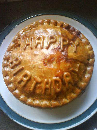 Happy Birthday Pie The Misses Pots