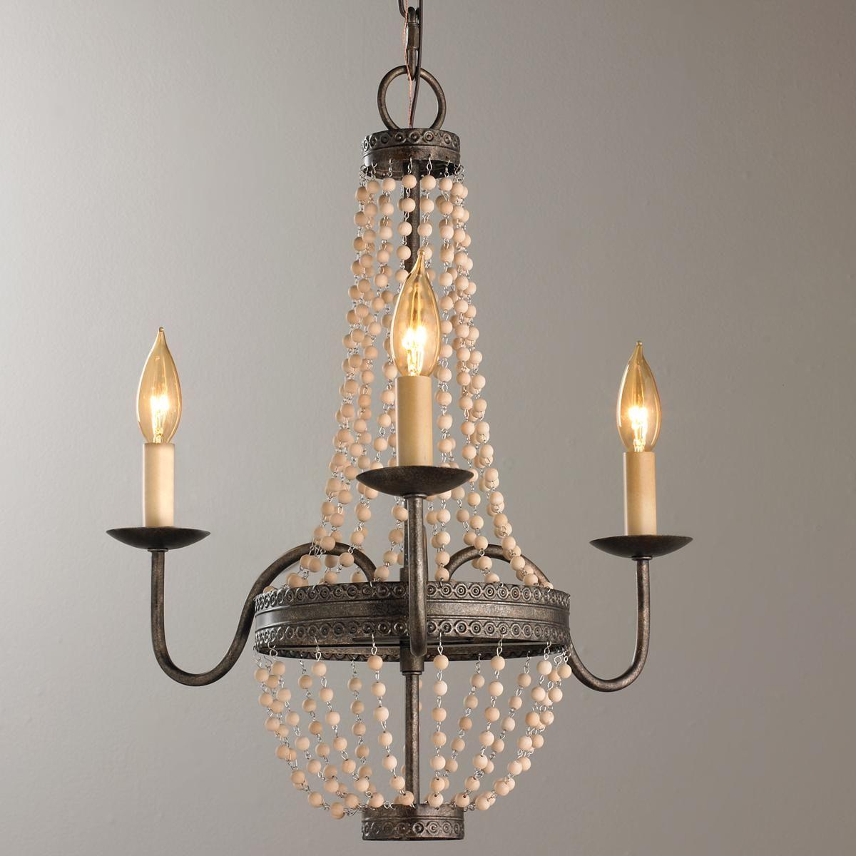 Vintage bronze beaded mini chandelier mini chandelier chandeliers