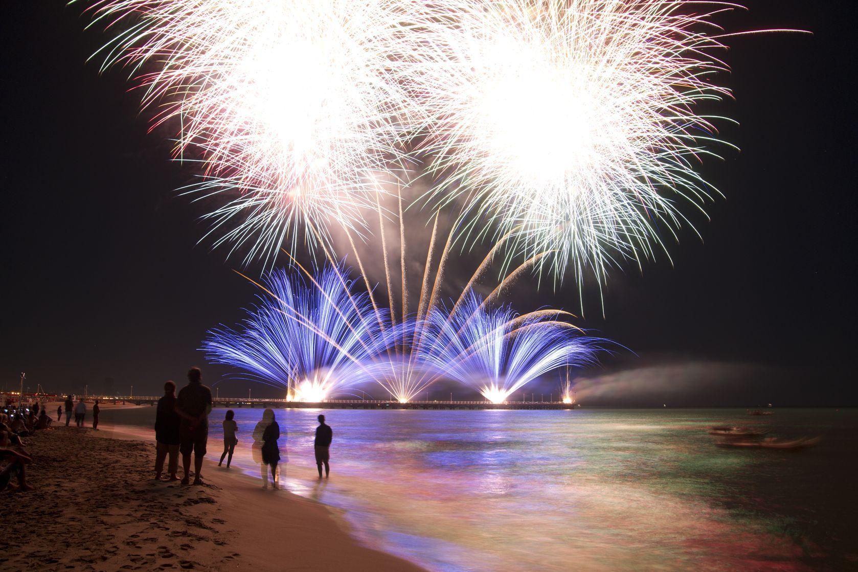 Fireworks explosive spiritual symbols fireworks background