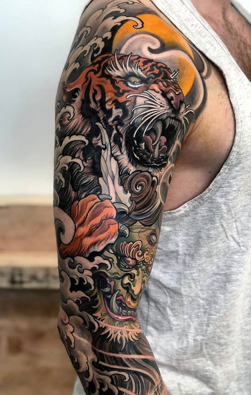 125 Best Japanese Tattoos For Men: Cool Designs, Ideas & Meanings 2020