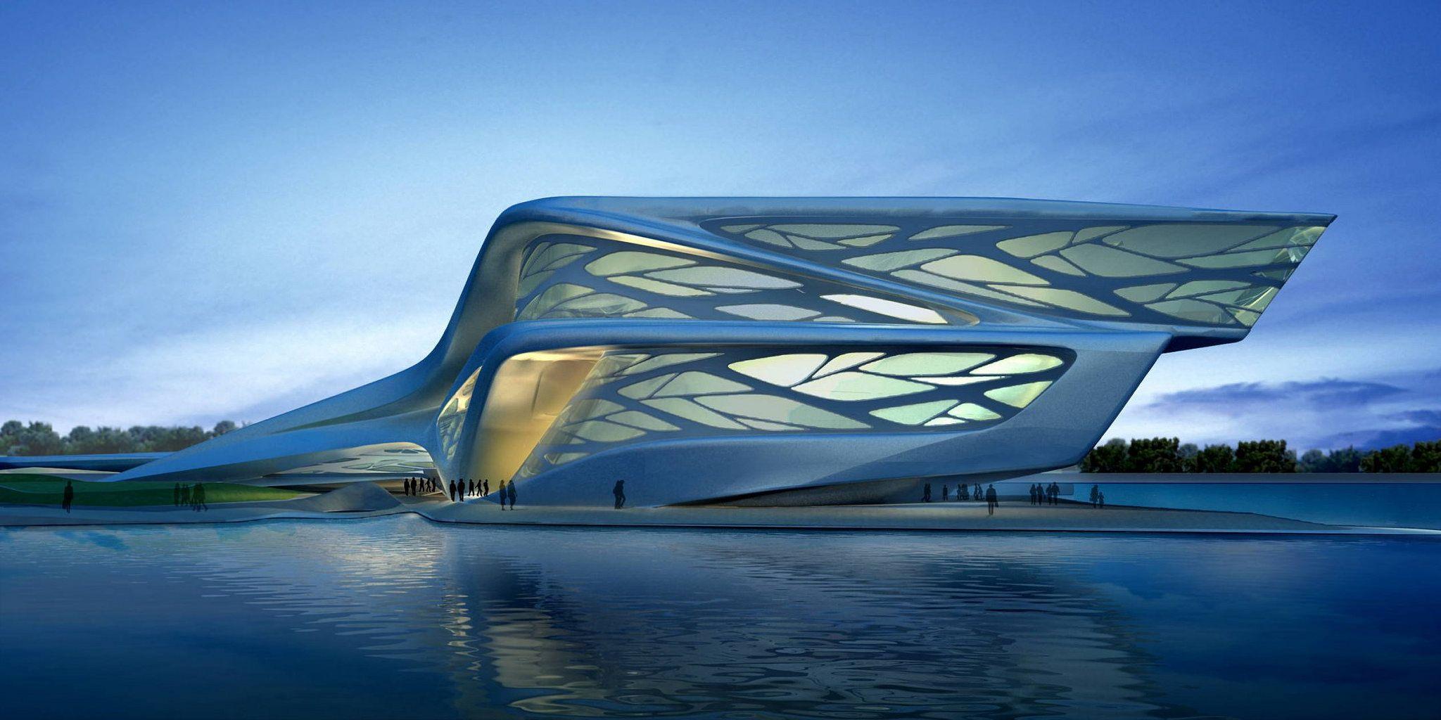 Abu Dhabi Performing Arts Centre By Zaha Hadid Architects Zaha Hadid Architecture Zaha Hadid Buildings Zaha Hadid Design