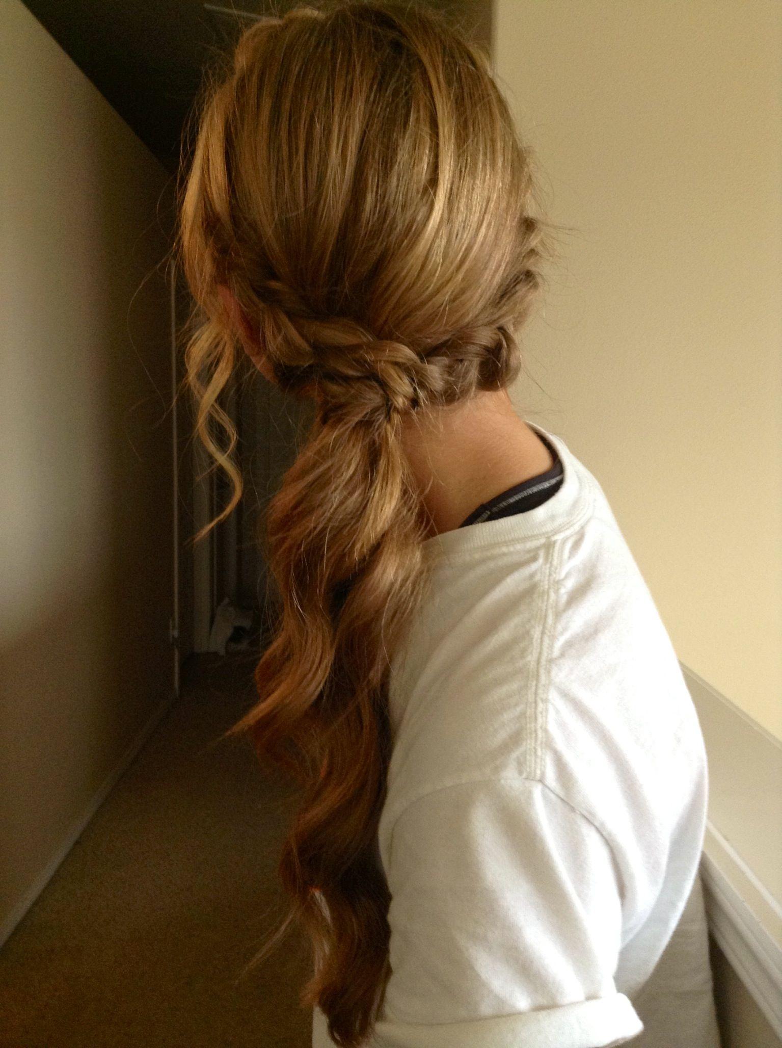 Homecomingprom ponytail hair and makeup pinterest ponytail