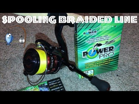 How to Spool Braided Line Review on a Spinning Shimano Ci4+