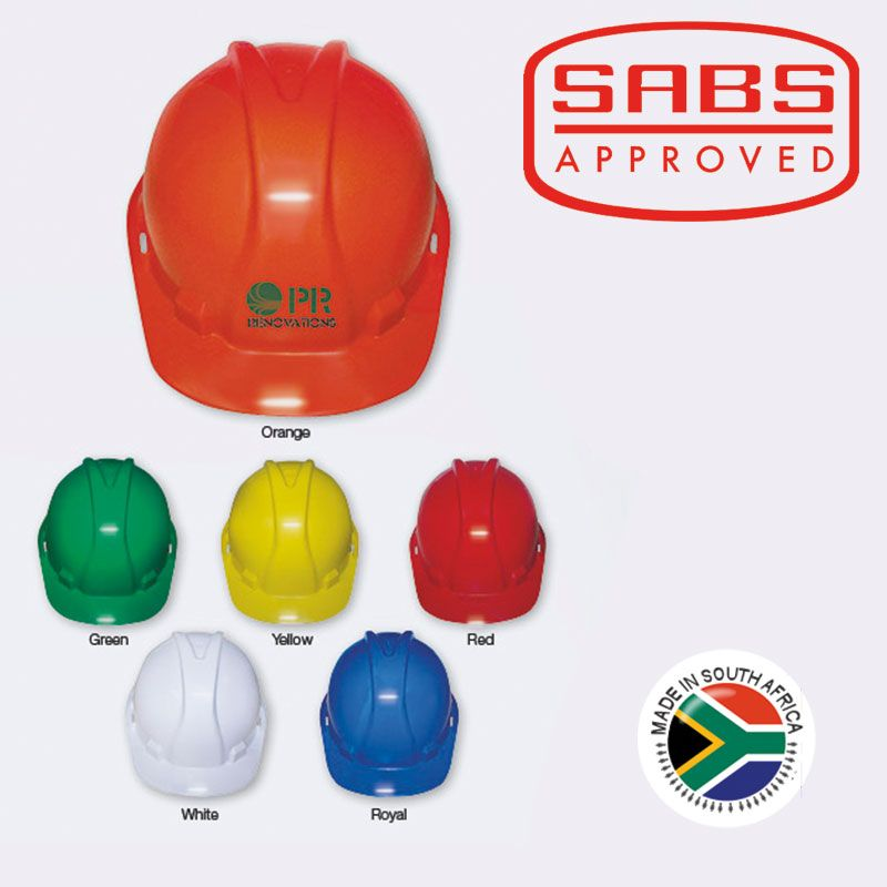 Hard hats manufactured in south africa sabs approved hard