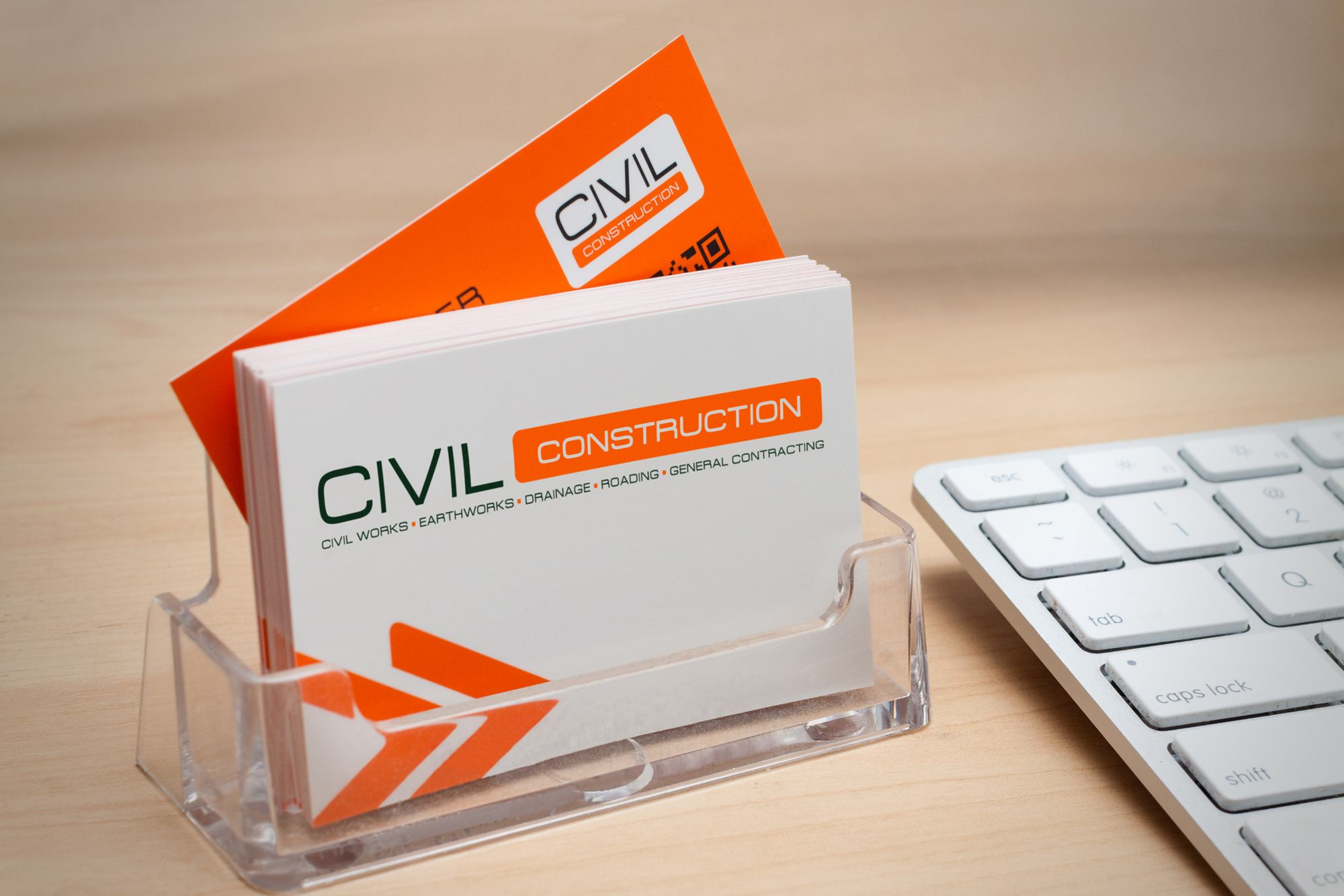 Stationery design & print for Civil Construction Queenstown New