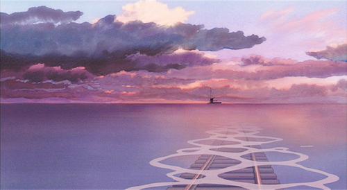 Spirited Away Train Studio Ghibli Anime Scenery Scenery