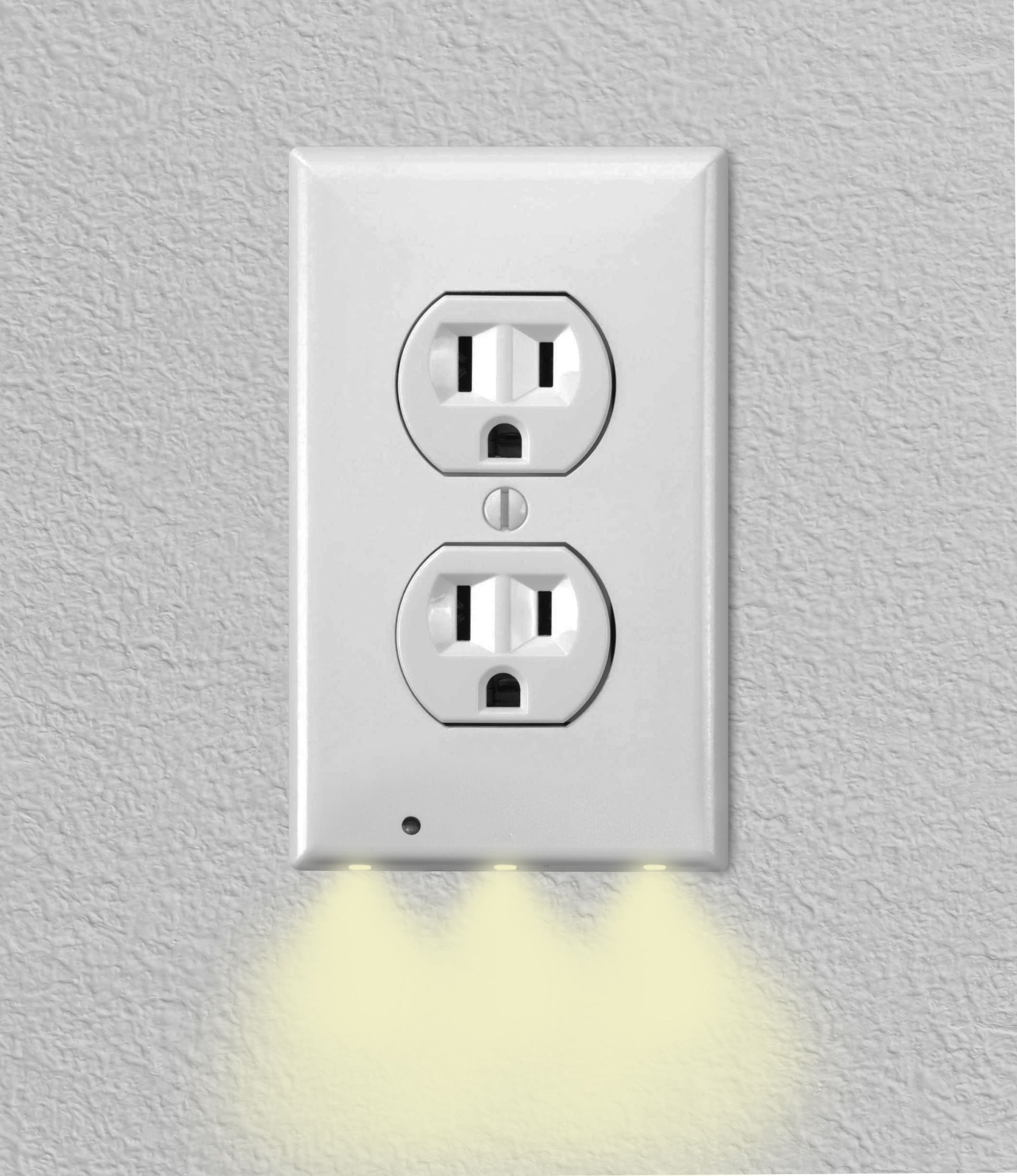 home wall outlets led night light night light on wall outlet id=91769