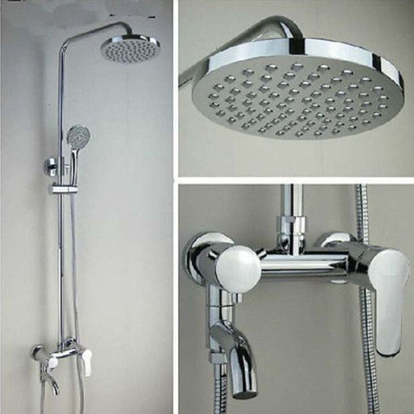 2019 Wholesale And Retail Promotion Wall Mounted Exposed Shower