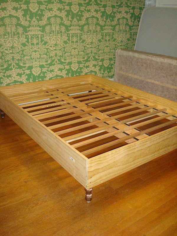 Diy Colette Upholstered Bed Twin Bed Frame Wood Simple Bed