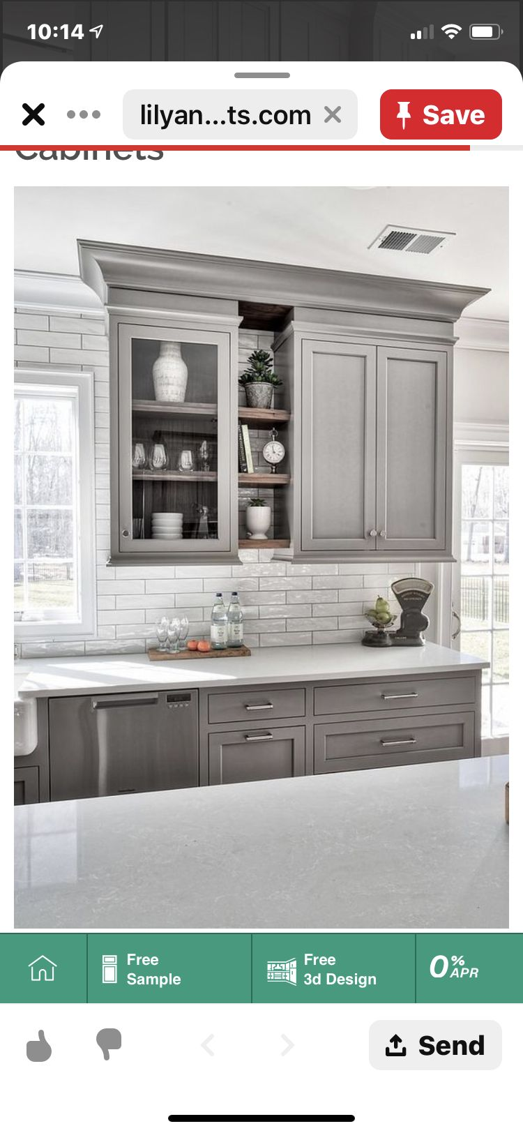 Pin By Jimi Nalani On Aaa Kitchen Cab Colors In 2020 Kitchen