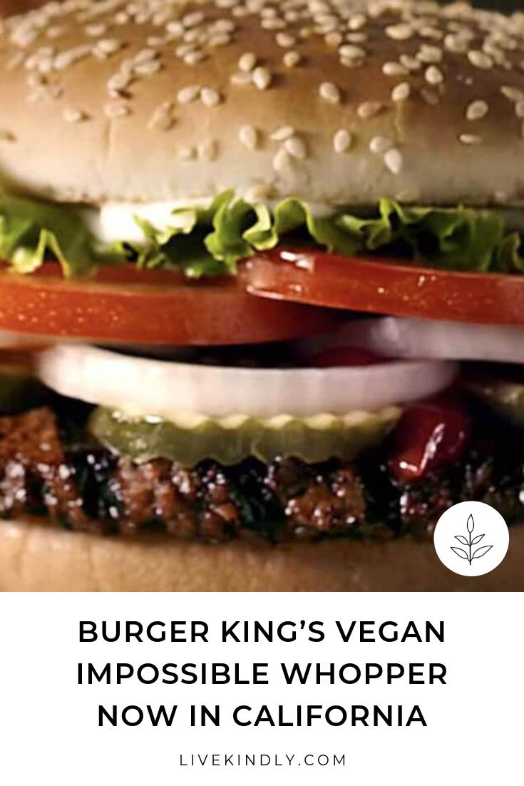 Burger King S Vegan Whopper Is About To Go Nationwide Vegan Fast Food Clean Eating Vegan Vegan Restaurants