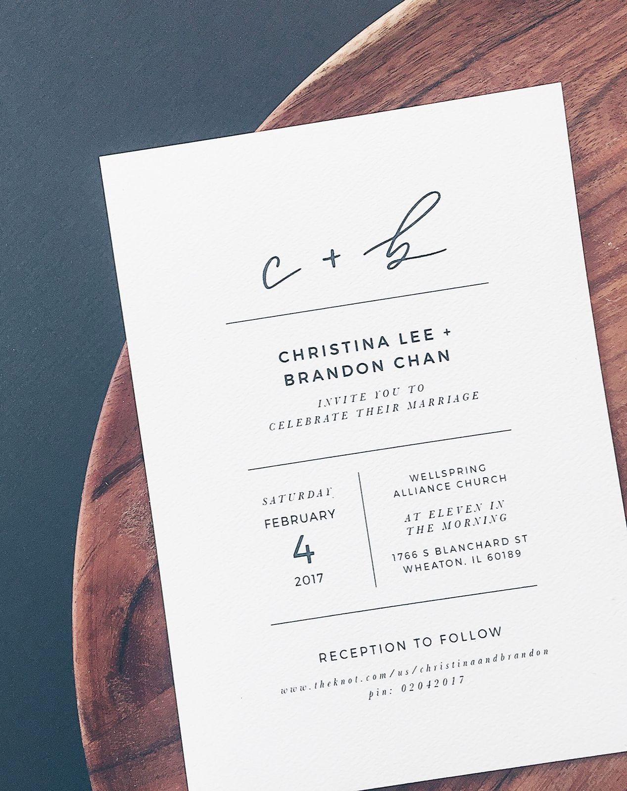 Interesting Wedding Invitations Cheap Canada Repin Classy Wedding Invitations Minimalist Wedding Invitations Hand Lettered Wedding Invitations